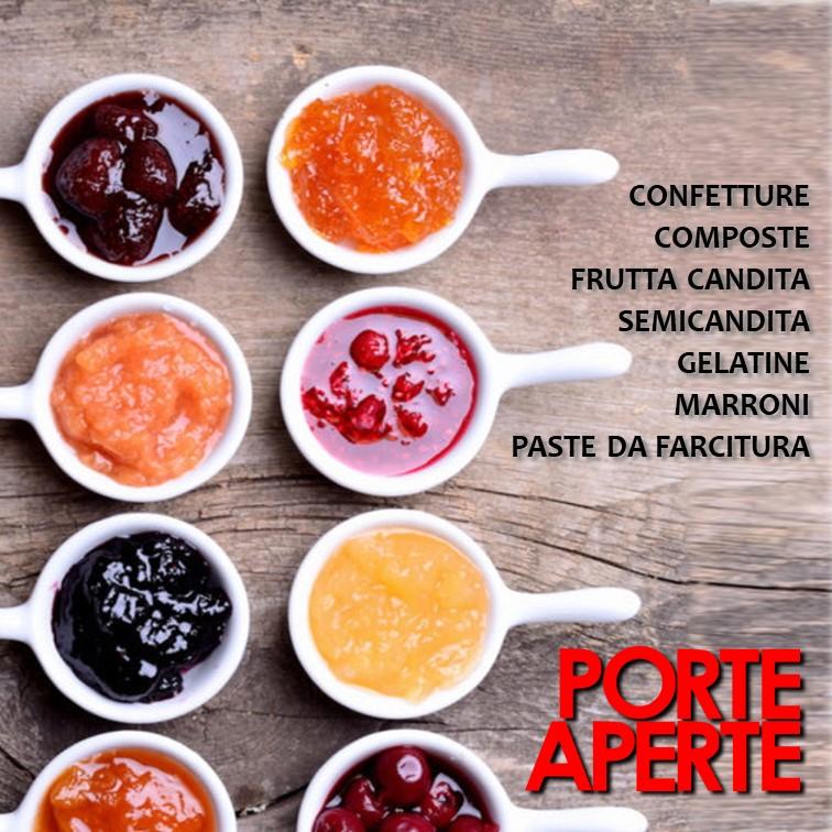 PORTE APERTE – Confetture, Frutta Candita, Gelatine E Marroni – 12 E 19 Ottobre 2020